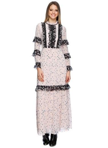 Glamorous Elbise Pudra